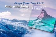 Paris Switzerland Group Holiday Tours Packages from Delhi India