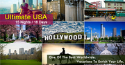 Ultimate USA Holiday Packages from Delhi India